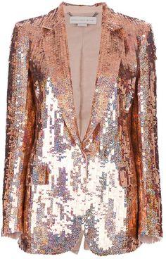 21168fa6 Gorgeous Rose Gold Stella McCartney Blazer - yes please! #memi loves! Sequin  Blazer