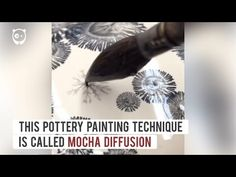 Kevin Kowalski creates gorgeous pottery designs using chemical reactions - YouTube