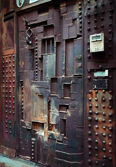 metal door from scrap                                                       …