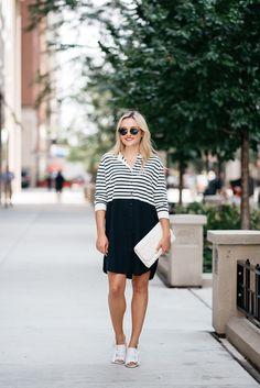 cool Яркое и стильное платье в полоску (50 фото) — Тренд 2017