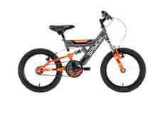 Townsend Boy's Spyda Bike - Grey/Orange, 5-7 Years  Price Β£125.96