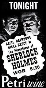 The New Adventures of Sherlock Holmes - Old Time Radio Show (1939 - 1946) - featuring Basil Rathbone and Nigel Bruce