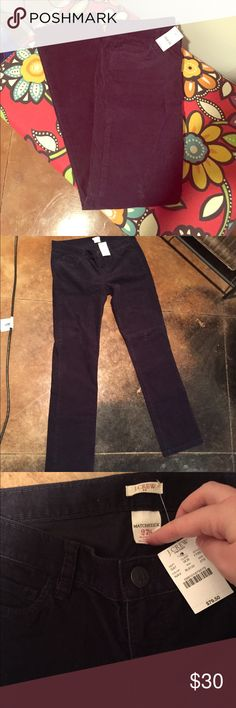 🆕 J.Crew Matchstick Stretch Blue Corduroy Pants Brand new with tags! Thank you for looking! Short length! J. Crew Pants Skinny