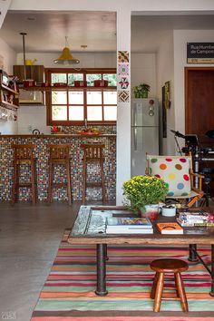Casa de pescador em ilha da Lagoa da Tijuca vira recanto familiar - Casa                                                                                                                                                                                 Mais