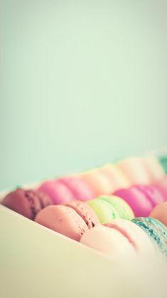 #Vintage Macaron - macarons iPhone wallpaper @mobile9