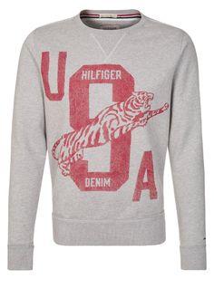 Hilfiger Denim Sweater - Grijs - Zalando.nl