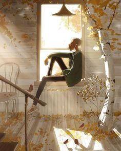 A hike to the old house by Pascal Campion