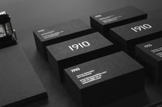 """""""After two years of operation we decided it was time to update the 1910 brand to reflect our ambitions for the upcoming years. A new logotype, stationery, and website marks our first steps forward. Web Design Logo, Brochure Design, Print Design, Branding Design, Packaging Design, Identity Branding, Corporate Identity, Blog Design Inspiration, Design Ideas"""