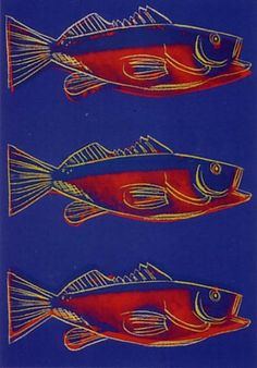 Fish by Andy Warhol