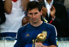"""ECHOES: Brazil 2014: """"Messi did not deserve to win the Golden Ball Award""""- Maradona.."""