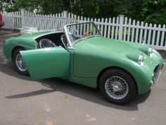 British Sports Cars, British Car, Frog Eye, Austin Healey Sprite, Mg Midget, Mini Trucks, First Car, Sport Cars, Old Cars