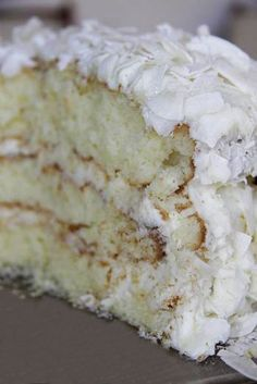 Coconut Cake Recipe  ===== ���� Coconut Cake Recipe This looks like the one my grandmother used to make at Easter!