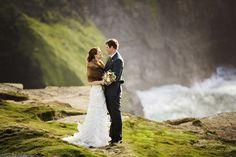Lauren & Jason at the Cliffs of Moher Wedding Photography, Photography Ideas, Got Married, Wedding Planner, Castle, Elegant, Wedding Dresses, Irish, Weddings