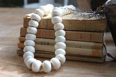 Large strand of Bone beads