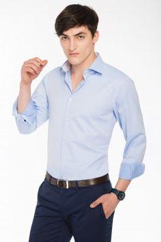 KOSZULA TERMA SLIM #shirt #pawo #fashion #ellegance