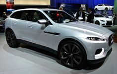 A Jaquar SUV? Jaguar's C-X17 SUB concept SUV. Video chat about it at https://createamixer.com/