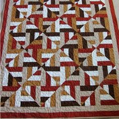 Jelly Roll Quilt (free Pattern)