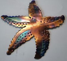 Handmade Metal Starfish,Ocean,Beach,Sea,fish,home decor,lodge,Art,Marine Life