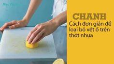 Mẹo tẩy rửa với chanh