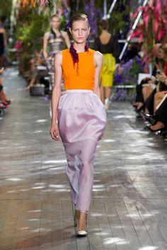 Christian Dior Spring 2014: Flower Girls: Christian Dior Spring 2014