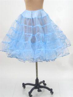 sew a 1950's crinoline petticoat