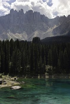 Lago di Carezza e Latemar by Daniele Faieta