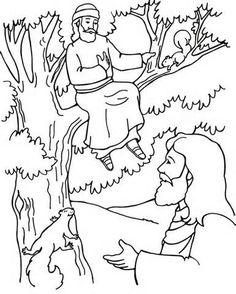 zacchaeus coloring pages for preschoolers.html
