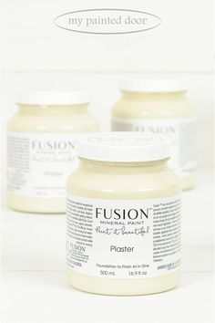 Plaster ▪A generously soft sand, not too white, not quite beige. A beautiful neutral for anywhere in your home. Fusion Mineral Paint available at My Painted Door (.com)