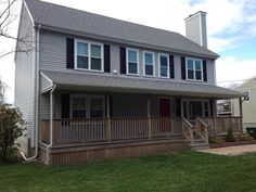 Home For Sale in Portsmouth RI. Great Colonial with 3 Bedrooms and 4 Baths. Finished basement, master suite, hardwoods, and more. Near beaches and Newport RI