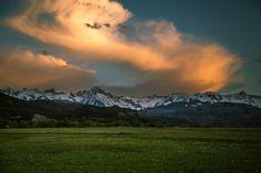 https://flic.kr/p/JuEt5m | San Juan Sunset | Sunset lighting up the San Juan range in south west Colorado.