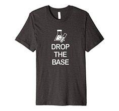 Men's Drop The Base Chemistry T-Shirt Large Dark Heather