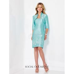 Social Occasions by Mon Cheri Mother of the Bride Dress 116841