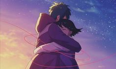 I realized many things one of them is that if I feel love. And I can go on and on, keep fighting for you, for ours amor boy dark manga mujer fondos de pantalla hot kawaii Film Manga, Manga Art, Manga Anime, Me Me Me Anime, Anime Love, Mitsuha And Taki, Kimi No Na Wa Wallpaper, Couple Manga, Your Name Anime