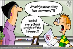 Cute comic that demonstrates why digital literacy and citizenship is so important!