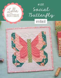 Image of #137 Social Butterfly MINI - PDF pattern