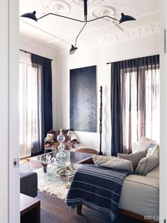 Curtains and floor colour