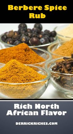 Berbere Spice Rub Berbere Spice Rub – This North African spice blend can be used on just about anything. The flavors are earthy and spicy, so use the amount that suits your tastes. This recipe makes a larger batch, so use as needed. via Derrick Riches Spice Blends, Spice Mixes, Berbere Spice, African Spices, Susan Recipe, Curry Spices, Smoking Recipes, Homemade Seasonings, Spice Rub