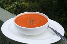 Simple Roasted Tomato Soup (Dairy, Gluten/Grain and Sugar Free)
