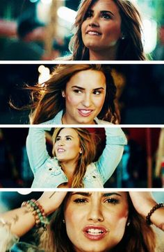 Demi Lovato. Made in the usa music video.