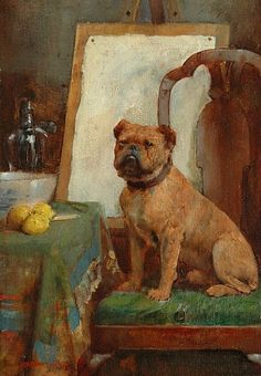 William Arthur Breakspeare The Painter's Dog Late 19th century