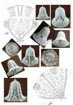 Best 12 Tried the middle one with standard-sized crochet thread. Turned out horribly, and was extremely large and crowded. I think the – Page 343258802834501832 – SkillOfKing. Crochet Motifs, Thread Crochet, Crochet Crafts, Crochet Doilies, Yarn Crafts, Crochet Flowers, Crochet Projects, Crochet Christmas Decorations, Crochet Ornaments