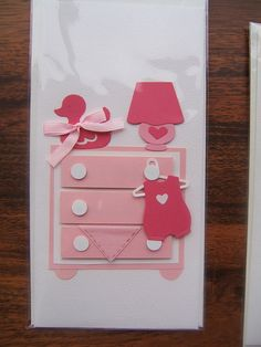 handmade card - baby girl | Flickr - Photo Sharing!
