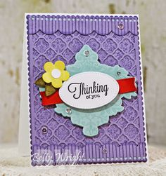 Crafting with Betty: Thinking of You! MFT cards #mftstamps