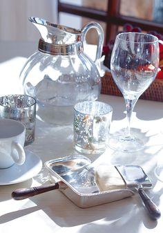 #Tischdeko & #Silber #Accessoires by Brigitte von Boch #bevonboch