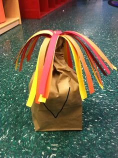 Serendipitous Discovery : Valentine's Day is for... preschoolers! Volcano craft to go along with the volcano experiment.  Letter V. #littlehandsbigplans #serendipitousdiscovery