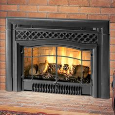 12 Amazing Gas Stove Inserts For Fireplaces Image Idea