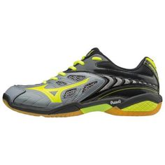 more photos dae7f b2f9e Mizuno WAVE FANG SS 2 Men s Badminton Shoes Indoor Sports Shoe Gray  71GA171045  Mizuno Men s