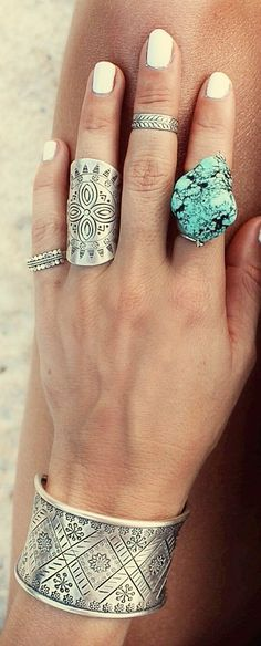 Love the turquoise!