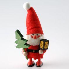 プレゼントを運んで来てくれたの?【NORDIKA ツリーを持ったサンタ】