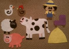 Welcome to Storytime: Cows in the Kitchen flannel story